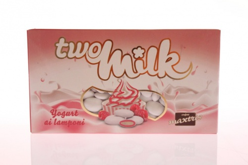 Two Milk yogurt e lamponi
